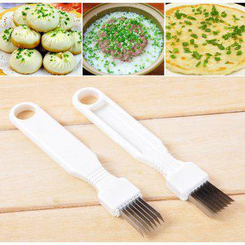 Creative Onion Cutter Knife Graters Vegetable Tool Cooking Tools Kitchen Accessories Gadgets Household - WHITE