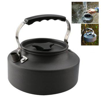 Ultralight Aluminum 1.1L Portable  Coffee Teapot Water Kettle for Outdoor Hiking Camping and Picnic - GRAY
