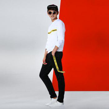 Men's Lovers Wear Sports and Leisure Suits - WHITE WHITE