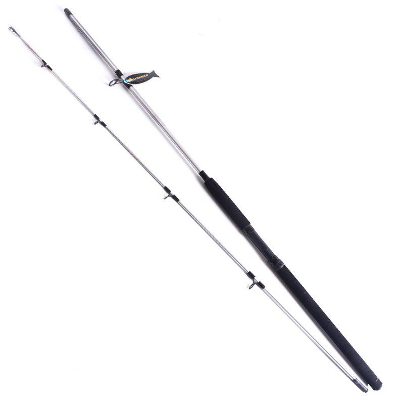 YIYA Plugable Fishing Rod Medium 2.4M / 2.7M Sliver 2 Sections - SILVER 2.4M