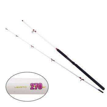 YIYA Plugable Fishing Rod Medium 2.7M / 3.0M White 2 Sections - WHITE 2.7M