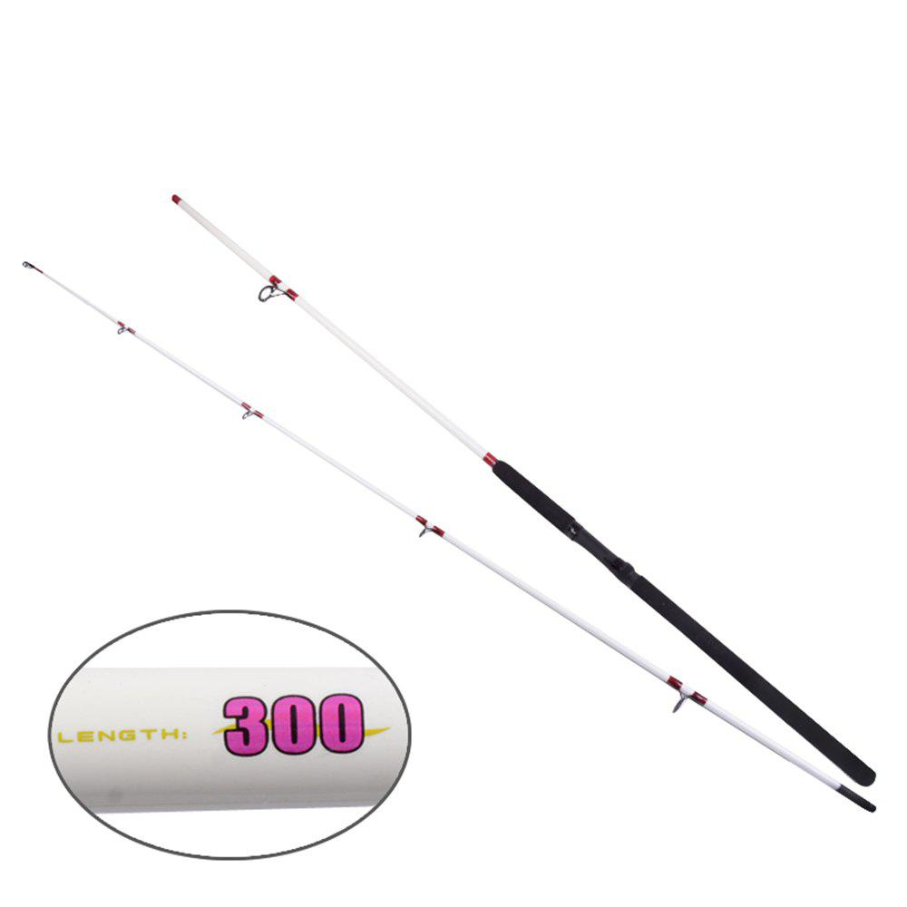 YIYA Plugable Fishing Rod Medium 2.7M / 3.0M White 2 Sections - WHITE 3.0M