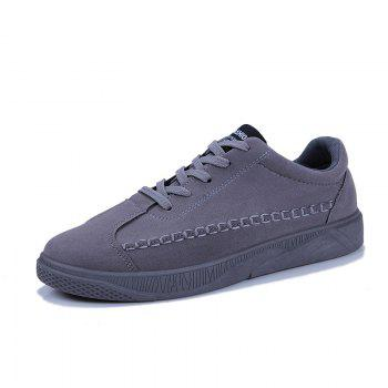 Male Casual Sport Student Shoes - GRAY GRAY