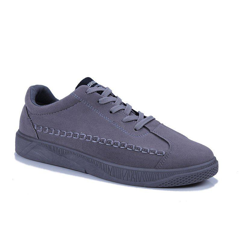 Male Casual Sport Student Shoes - GRAY 40