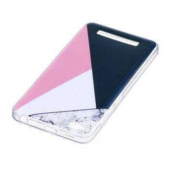 TPU Soft Case for Xiaomi Redmi 4A Bab Marble Style Back Cover - COLORFUL