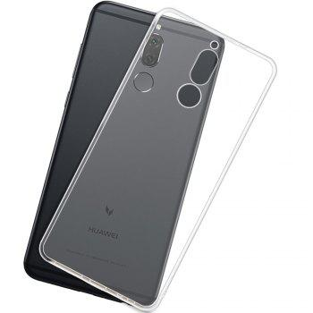 Ultra Thin Clear Transparent Soft TPU Back Case for Huawei Maimang 6 - TRANSPARENT