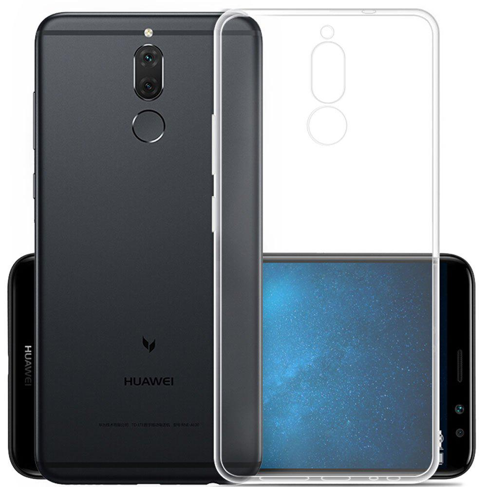 Ultra Thin Clear Transparent Soft TPU Back Case for Huawei Nova 2i - TRANSPARENT