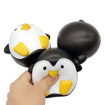 Jumbo Squishy Penguin Kawaii Cute Animal Slow Rising Sweet Scented Vent Charms Kid Toy Doll Gift Fun - YELLOW