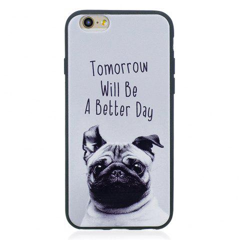 Case For Iphone 6G Painted Cover TPU Phone Protection Shell - GRAY
