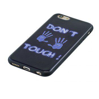 Case For Iphone 6G Painted Cover TPU Phone Protection Shell - BLUE