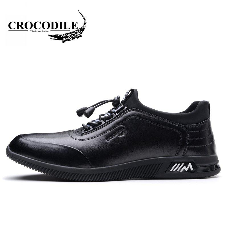 CROCODILE Recreational Men's Shoes WFX00372013 - BLACK 38