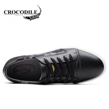 CROCODILE The New 2018 Leisure Men's Shoes WFX00372018 - BLACK BLACK