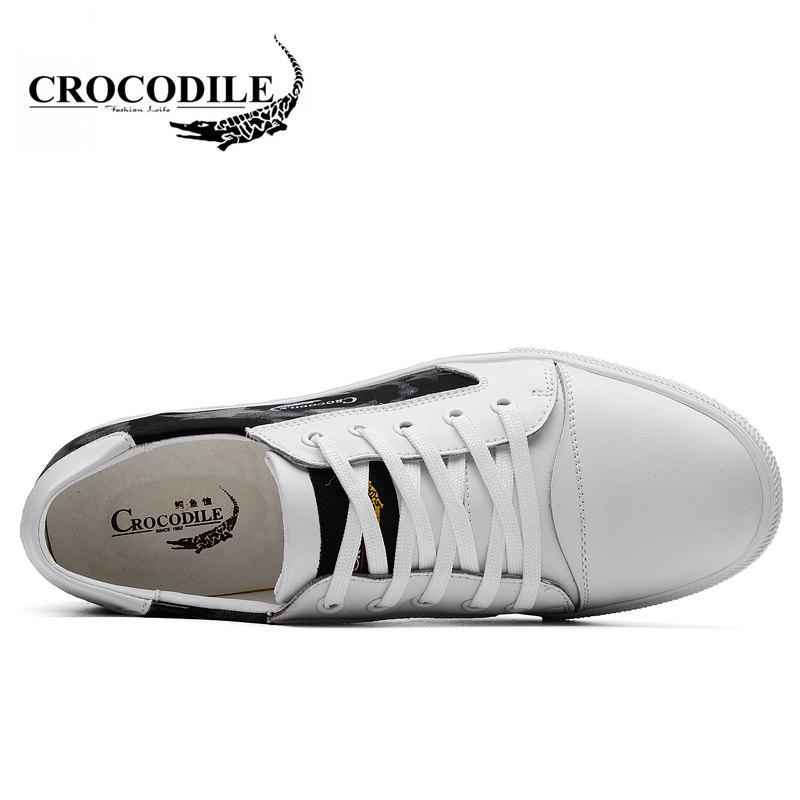 CROCODILE The New 2018 Leisure Men's Shoes WFX00372018 - WHITE 38