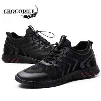 CROCODILE The New 2018 Recreational Shoe Male WFX00372020 - BLACK 38