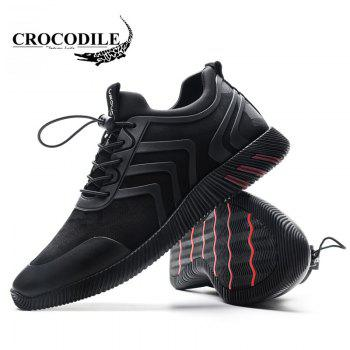 CROCODILE The New 2018 Recreational Shoe Male WFX00372020 - BLACK BLACK
