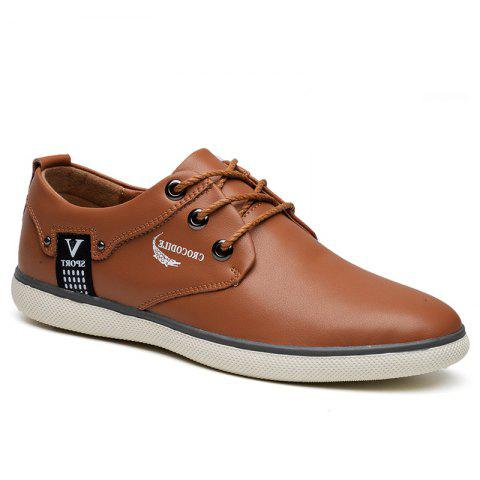 The New 2018 Recreational Shoe Male WFX00372022 - BROWN 38