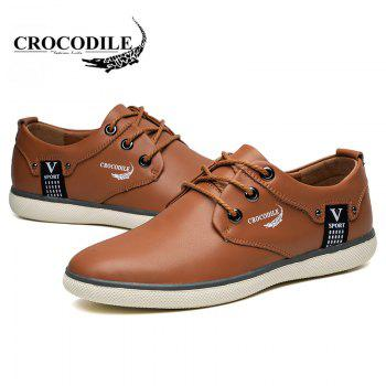 CROCODILE The New 2018 Recreational Shoe Male WFX00372022 - BROWN 38