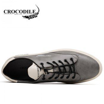 CROCODILE The New 2018 Male Leisure Shoes WFX00372025 - GRAY 38