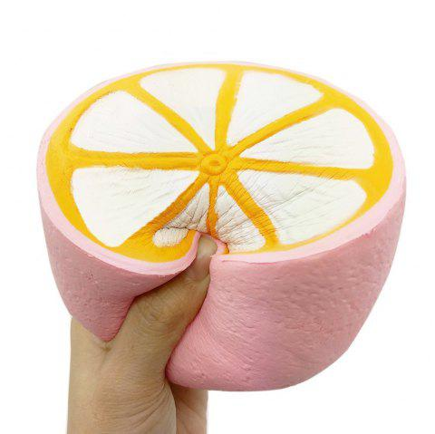 Slow Rising Squishies Scented Lemon Squishy Stress Relief Toy - PINK