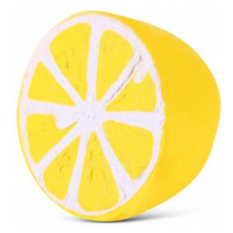 Slow Rising Squishies Scented Lemon Squishy Stress Relief Toy - YELLOW