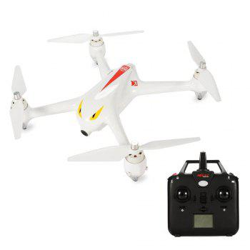 MjxR/C Technic B2C Bugs 2C  Brushless RC Drone with 1080P HD Camera GPS - WHITE WHITE