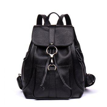 HMILY Backpack Female Genuine Leather Women Bag