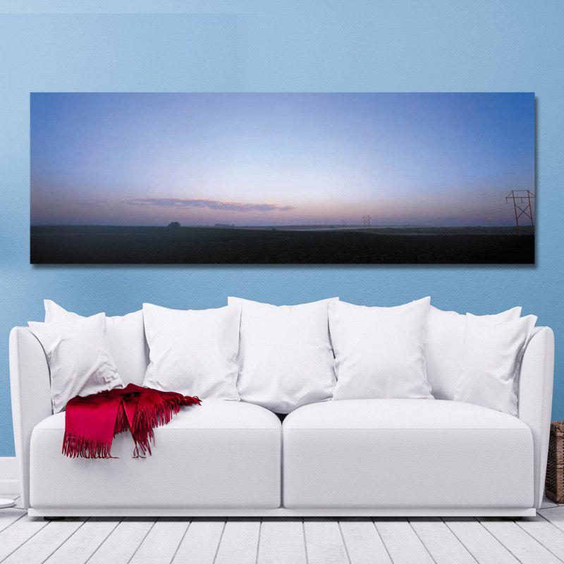 DYC 10571 Photography Prairie Sunrise Scenery Print Art - COLORMIX 40 X 120CM