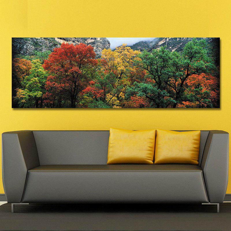 DYC 10572 Photography Forest Leaves Landscape Print Art - COLORMIX 40 X 120CM