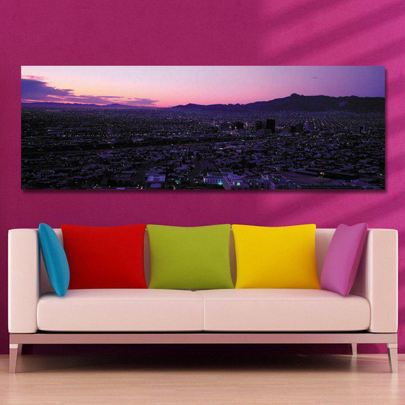 DYC 10573 Photography Dusk Scenery in Busy Cities Print Art - COLORMIX 40 X 120CM