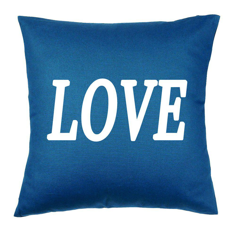 Confession Decorative Cotton Cushion Hug Pillowcase 16inchx16inch - COLORMIX 16INCH*16INCH