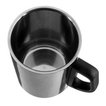 350ML/500ML Non-Magnetic Stainless Steel Insulated Thermal Tea Water Thermo Mug Double Layers Readily Insulated Thermo-C - SILVER 500ML