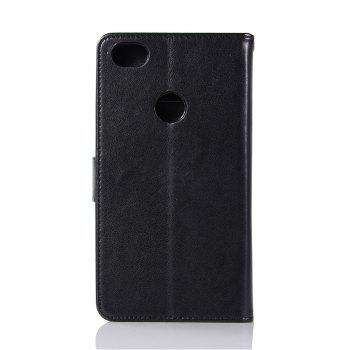 Owl Campanula Fashion Wallet Cover For Xiaomi Redmi Note 5A  Phone Bag With Stand PU Extravagant Retro Flip Leather Case - BLACK