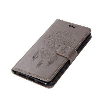 Owl Campanula Fashion Wallet Cover For Xiaomi Redmi Note 5A  Phone Bag With Stand PU Extravagant Retro Flip Leather Case - GRAY