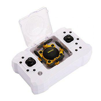 Mini 2.4GHz 6-axis Gyro Drone RC Quadcopter without Camera - YELLOW