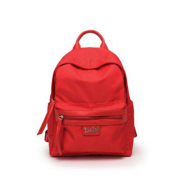 Canvas Backpack Shoulder Bag Bookbag School Bag