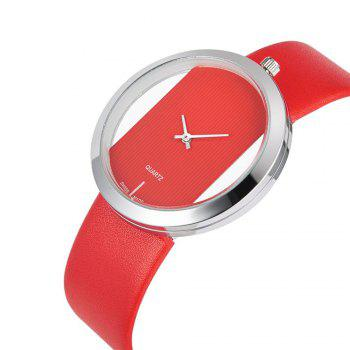 Reebonz Brand Fashion Watches Women Quartz Watch Female Wristwatches - RED