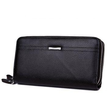 Men's business casual hand bag - BLACK BLACK