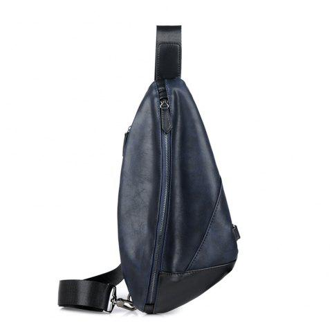 Single shoulder bag movement inclined shoulder bag - BLUE