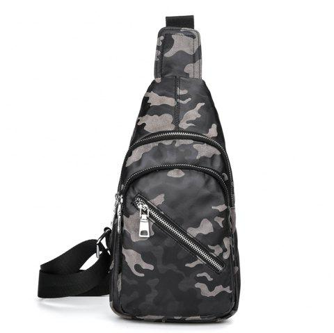 Outdoor sports chest package - CAMOUFLAGE GRAY