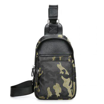 Man inclined across one shoulder chest package - CAMOUFLAGE CAMOUFLAGE