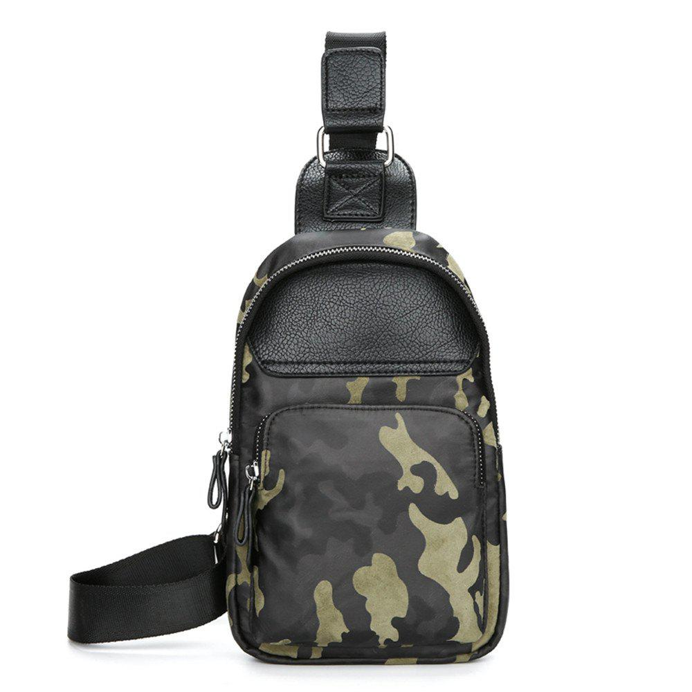 Man inclined across one shoulder chest package - CAMOUFLAGE