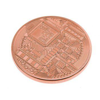 Golden Silver Relief Than Commemorative Coins -  ROSE GOLD