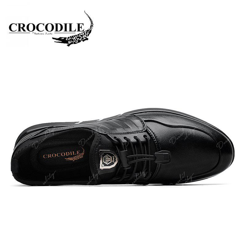 CROCODILE The New 2018 Men Casual Shoes WFX00372036 - BLACK 38