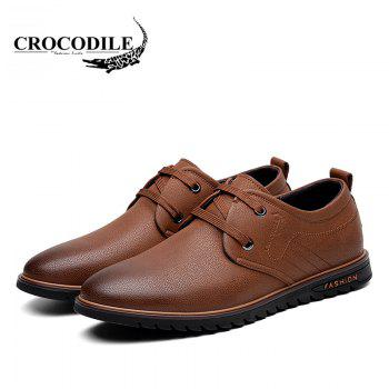 CROCODILE The New 2018 Men Casual Shoes WFX00372037 - BROWN BROWN