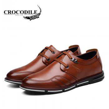 CROCODILE The New 2018 Men Casual Shoes WFX00372038 - BROWN 41