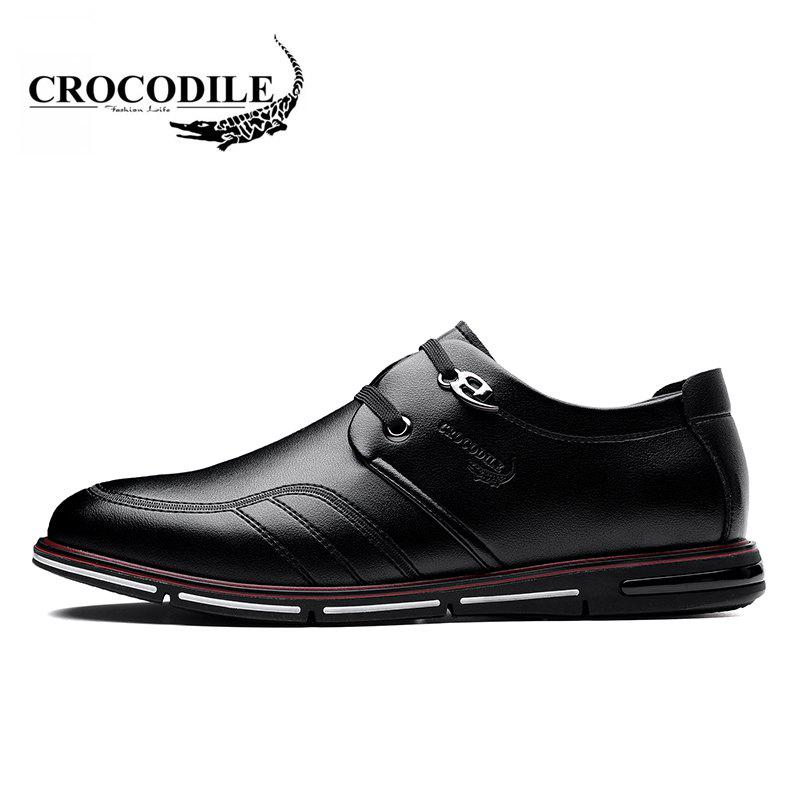CROCODILE The New 2018 Men Casual Shoes WFX00372038 - BLACK 38