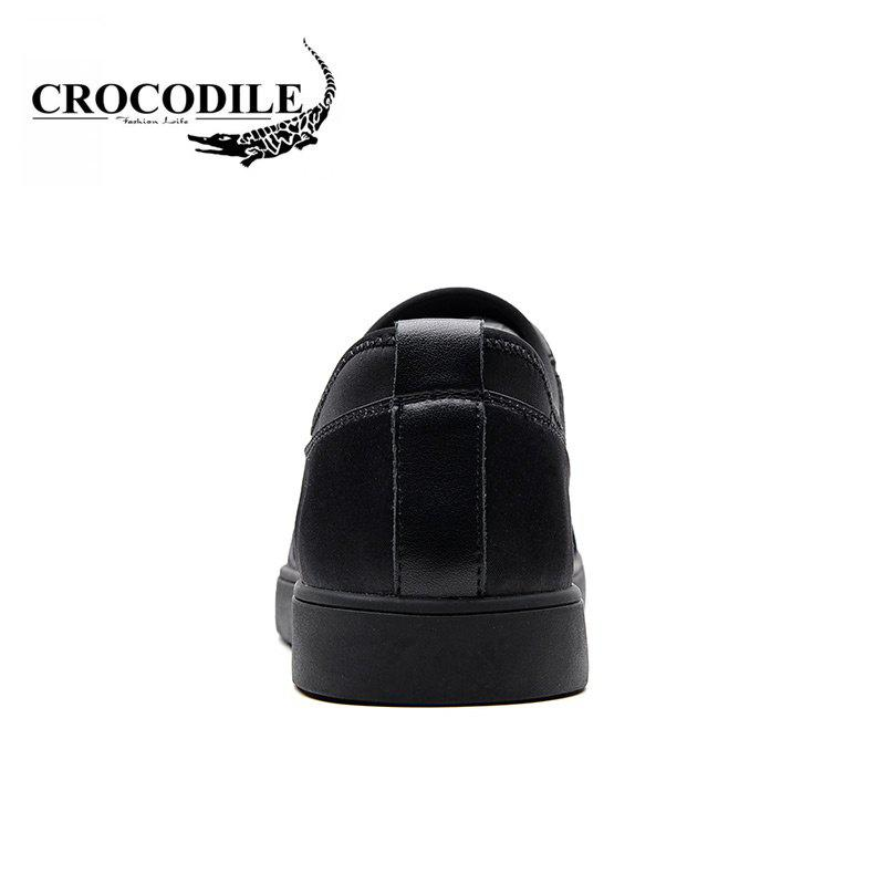 CROCODILE The New 2018 Men Casual Shoes WFX00372039 - BLACK 38
