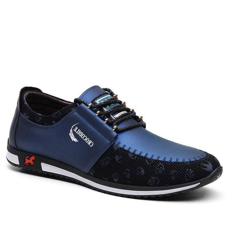 CROCODILE The New 2018 Men Casual Shoes WFX00372043 - BLUE 42
