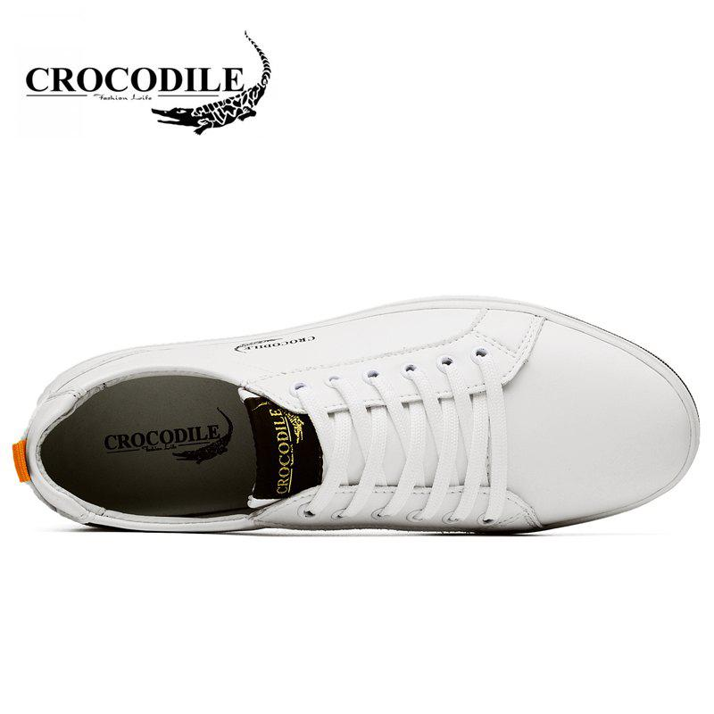 CROCODILE 2018 New Men Casual Shoes WFX00372044 - WHITE 38