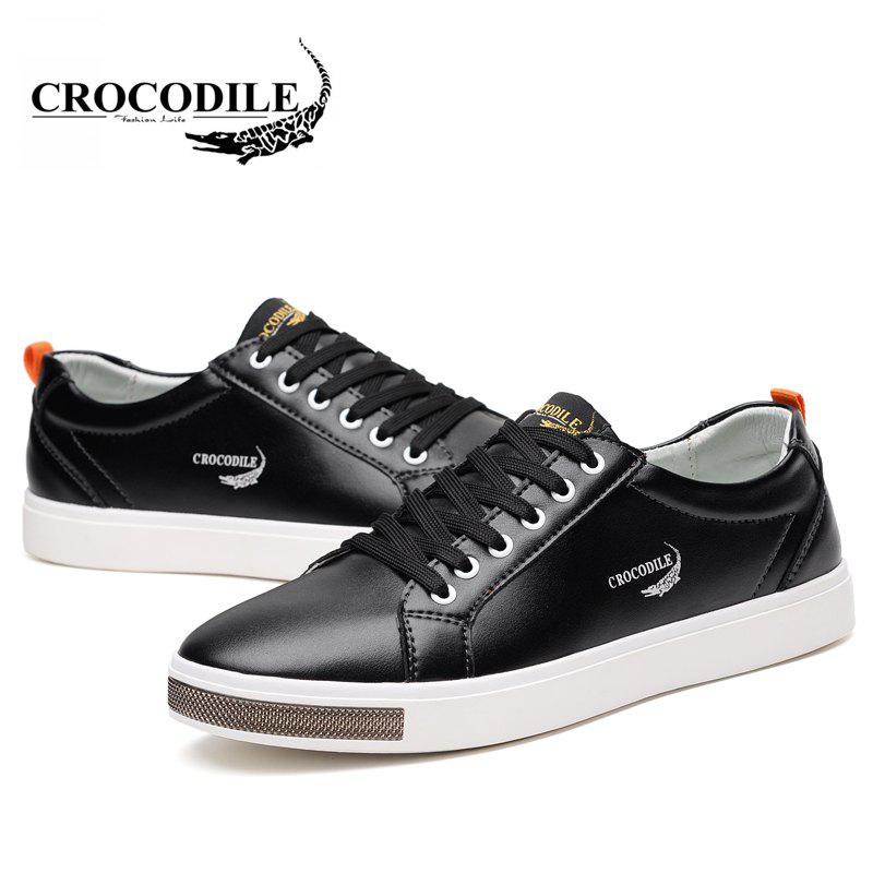 CROCODILE 2018 New Men Casual Shoes WFX00372044 - BLACK 38